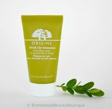 Origins Drink Up Intensive Overnight Hydrating Facial Mask 1 oz / 30 ml - New
