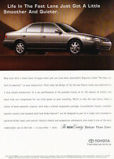 1997 Toyota Camry - smoother quieter - Original Advertisement Car Print Ad J313