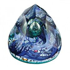 CAITHNESS PAPERWEIGHT-OCEAN OCEANS ALIVE-NEW-BOXED