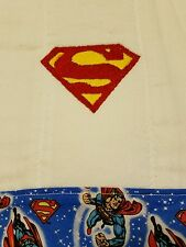 Baby Personalized Burp Cloth Superman