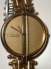 Vintage Rodolphe by Longines Ladies Gold Tone Steel Gold Tone Dial Watch