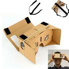 Google Cardboard VR 3D Headset Headstrap Virtual reality Viewer Glasses