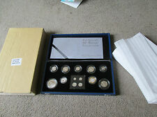 2006 EIIR BIRTHDAY SILVER PROOF COLLECTION INC MAUNDY -COA STUNNING SET