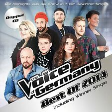 2CD*THE VOICE OF GERMANY**BEST OF 2014 (INCL. WINNER-SINGLE)***NAGELNEU & OVP!!!