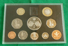 1997 Royal Mint UK Proof 10 Coin Year Set including Large & small 50p & £5 coin