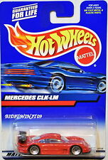 HOT WHEELS 2000 MERCEDES CLK - LM RED