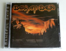 Dark At Dawn - Baneful Skies (CD, 2000, Iron Glory) Mint Condition