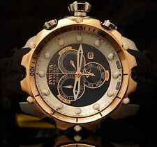 20408 Invicta Mens Reserve Venom Sea Dragon Gen II Swiss Rose-Gold Strap Watch