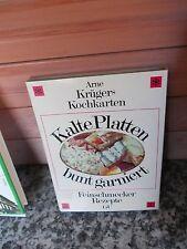Kalte Platten bunt garniert, Arno Krügers Kochkarten, aus dem Gräfe und Unzer Ve