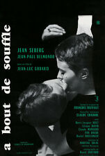 Breathless A bout de souffle 1960 Jean-Luc Godard #11 movie poster print