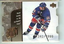Wayne Gretzky 1998-99 Upper Deck Year Of The Great One Quantum #1342/1999