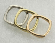 3 Tri-Gold Tiffany & Co. Frank Gehry 18K Gold Torque Rings Size 6 1/4