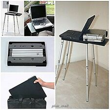 Portable Laptop Notebook Projector Stand Table Desk Lightweight  Working Station