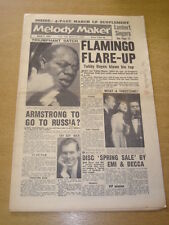 MELODY MAKER 1959 MARCH 7 FLAMINGO CLUB TUBBY HAYES ARMSTRONG JOHNNIE RAY +