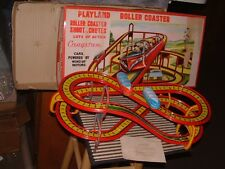 CRAGSTAN ROLLER COASTER 2 TROLLY SET, 100% COMPLETE & WORKING W/ORIGINAL BOX!