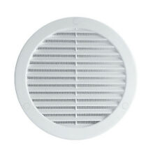 Circle Air Vent Grille Cover 187mm (7.36inch) White Ventilation Cover