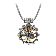 GENUINE Alchemy Gothic Steampunk Pendant - Foundryman's Ring Cross | Men's