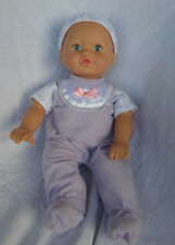 "2007 Baby Doll 15"" Sound Heavy Duty Plastic Doll 15"" Toy"