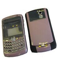 Para Blackberry Curve 8300 8320 8310 Fascia vivienda cubierta de batería Teclado Rosa del Reino Unido