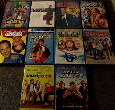 Lot of 10 COMEDY DVDs - Mike Myers  Tom Hanks  Will Arnett  Will Forte +