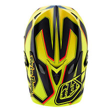 Troy Lee Designs D3 Carbon Reflex Yellow TLD XL Helmet MTB FREE WORLDWIDE S&H