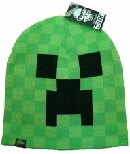 Minecraft Creeper Beanie | Mine Craft Hat | Official | BEANIE | Youth | S/M