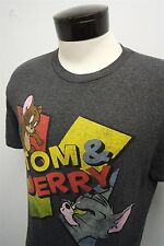 RARE! VTG TOM & JERRY cartoon promo reprint graphic t-shirt  sz L mens S/S#8940