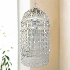 Cream Vintage Shabby Chic Bird Cage Ceiling Pendant Light Shade Chandelier