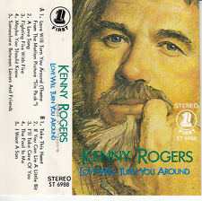 "K7 AUDIO KENNY ROGERS ""LOVE WILL TURN YOU AROUND""  (MADE IN SINGAPORE)"