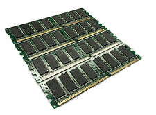 4GB 4x 1GB PC3200 DDR 400 Non ECC 184 Low Density DIMM RAM Dual Channel Memory