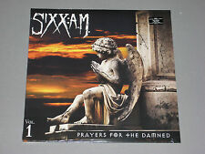 SIXX A.M. Prayers For the Damned Vol. 1 180g LP (Clear Vinyl) New Sealed