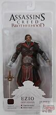 "EZIO EBONY ASSASSIN Assassins Creed Brotherhood NECA 7"" Inch 2011 FIGURE"