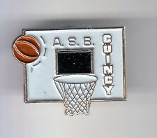 RARE PINS PIN'S .. SPORT BASKET BALL CLUB TEAM A.S.B CUINCY NORD 59 ~C1