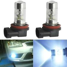 2x 6000K High Power H8 H11 CREE LED Fog Driving Light Canbus 60W Lamp Bulb White