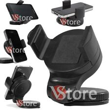 SUPPORTO AUTO IPHONE SAMSUNG GPS CELLULARI IPOD MP3 MP4 UNIVERSALE VENTOSA