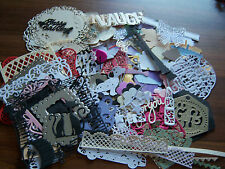 Die cut Toppers in asstd shapes & sizes -100+ 'craft clearout' sets will vary