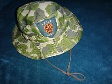 Vietnam War ARVN SF KOHO Mobile Guerrilla Force Camo Boonie Hat With Chinstrap