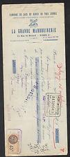 """PARIS (IV°) USINE de SACS pour DAME / MODE """"LA GRANDE MAROQUINERIE"""" en 1933"""
