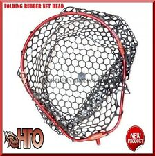 Tronix pro Namautaq pliant caoutchouc maille landing net head for sea jeu lrf rod fishing