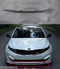 FNB Front Lip/Rip Unpainted fiberglass For KIA Optima K5 2011 2015