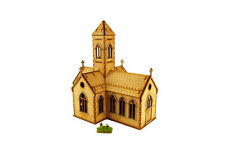 WW2 VILLAGE CHURCH 15mm Building Terrain Flames of War N524