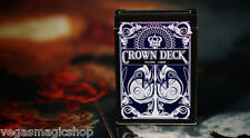 Crown Deck Blue Playing Cards Poker Size USPCC Custom Limited Edition New Sealed