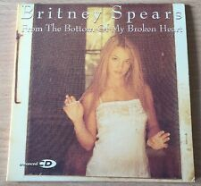 Britney Spears From The Bottom Of My Broken Heart RARE Collector NEW CD Single