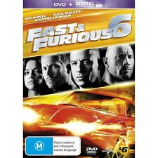 FAST AND FURIOUS 6-Vin Diesel, Paul Walker-Region 4-New AND Sealed