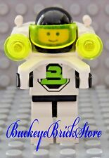 LEGO  Classic Space Minifig Blacktron with Jet Pack