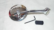 1 LT or RT  Outside Door Peep 4 Inch Mirror, HOT ROD, FORD CHEVY, DODGE,RAT ROD