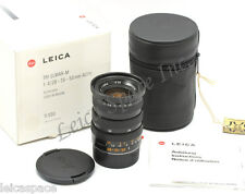 *Rare* Leica TRI-ELMAR-M1:4/28-35-50mm ASPH Boxed Engraved Mistake