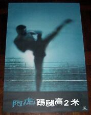 "Andy Lau Tak-Wah ""A Fighter's Blues"" Tokiwa Tokako HK ORIGINAL 2000 Poster B"