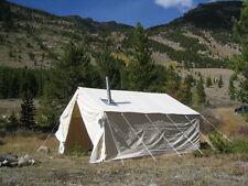 NEW 12x16x5ft Outfitter Canvas Wall Tent + Alum Frame
