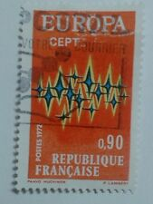 FRENCH STAMP - 0,90